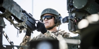 active duty army soldiers earning their base pay
