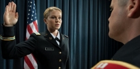 ROTC Cadets prepare rope bridge for stream crossing