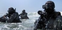 Special Forces water training