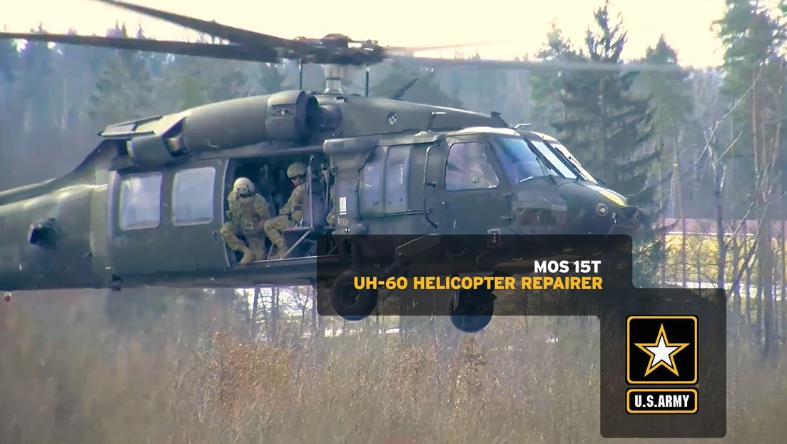 UH-60 (Blackhawk) Helicopter Repairer (15T) | GoArmy com