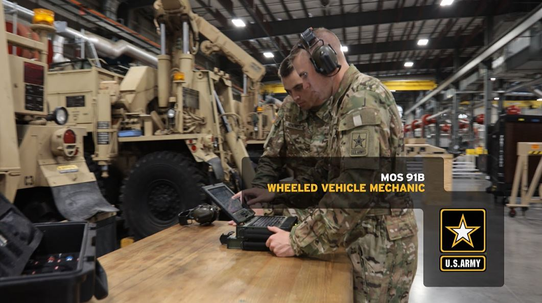 Wheeled Vehicle Mechanic (91B) | GoArmy com