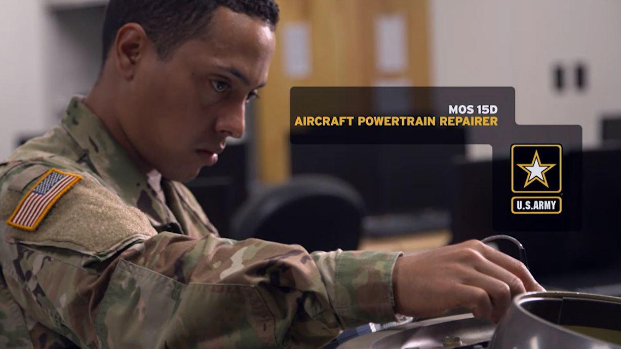 Aircraft Powertrain Repairer (15D) | GoArmy com