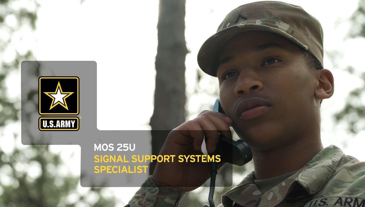 Signal Support Systems Specialist (25U) | GoArmy com