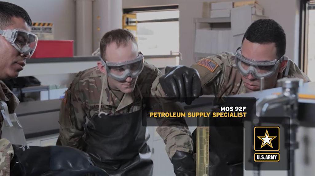 Petroleum Supply Specialist (92F) | GoArmy com